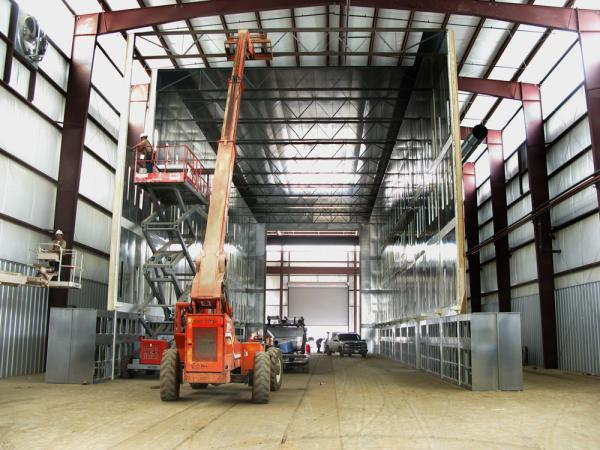 Chicago Custom Industrial Paint Booths