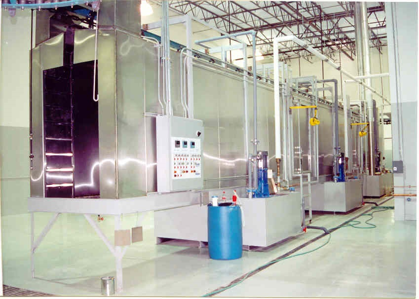 Chicago Custom Industrial Spray Booths