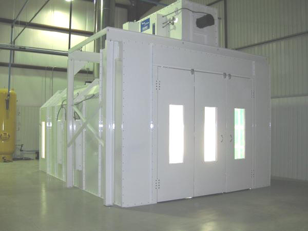Chicago Industrial Paint Spray Booths